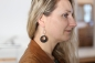 Preview: HOLTS-DESIGNER Ebony Earring silver